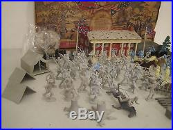 Rare Vintage Marx Battle of the Blue and Gray Civil War Toy Playset withBox