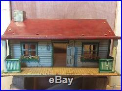 Rare Vintage Marx Happi Time Playset Farm House