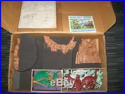 Rare Vintage Marx Prehistoric Playset Style 3398 Complete Original Dinosaur set