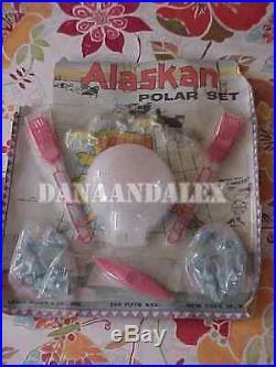 Rarest of the Rare 1958 Alaskan Polar Marx Play set