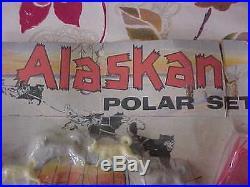 SUPER Rare 1958 Alaskan Polar Marx Play set Rare