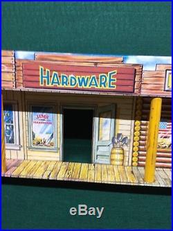 Scarce Marx Alaska Playset Storefront