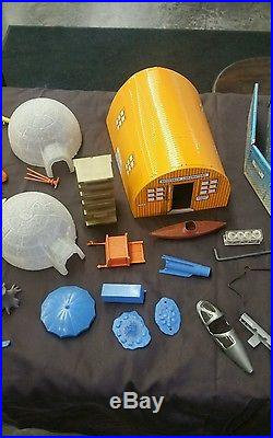 Scarce Marx I. G. Y. Arctic Satellite Base Playset No. 4800 Series 1000 with Box