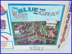 Sears Heritage Vintage Marx 1970s The Blue And The Gray Playset Complete