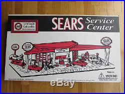 Sears Service Center Play Set By Marx Model No. 3436R Vintage Collectible