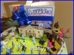 Sharp Complete Vintage Marx 72 Alamo Playset with Nice Box