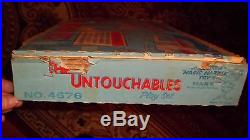THE ULTIMATE MARX UNTOUCHABLES PLAYSET COMPLETE withMANY EXTRAS BOX BAGS INSTR MAG