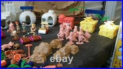 The Flinstones Collector Set. Marx Toys. 1991
