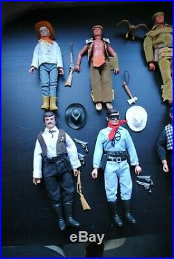 The Lone Ranger Rides Again Complete Set Off Figures Nice Playset