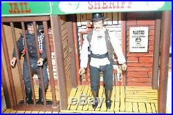The Lone Ranger Rides Again Tex Dawson Butch Cavendish + Jail Playset