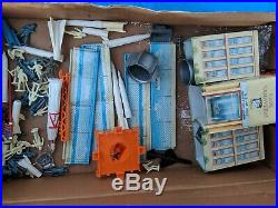 The Marx-Atomic Cape Canaveral Missile Base Parts Only & Original Box Free S&H
