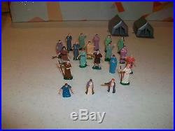 The Ten Commandments Miniature Playset By Louis Marx Toy Company
