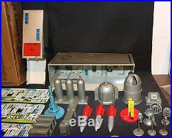 Tom Corbett Space Academy Set #7009 MARX Toys Blue Box Incomplete 1950's