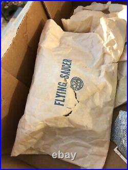 UNUSED NIB Marx Atomic Cape Canaveral Missile Base Parts & Accessories 1950s WOW