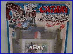 Unused Giant Plastics #1031 Mongol Attack on Cathay Playset Marx