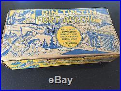 Vintage 1950's Marx Playset Rin Tin Tin Fort Apache