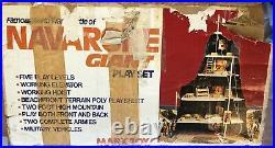 VINTAGE 1977 WWII NAVARONE GIANT PLAY SET MARX TOYS With FIGURES TANKS BOX #4302