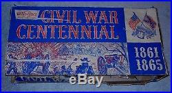 VINTAGE HAPPI-TIME SEARS MARX CIVIL WAR CENTENNIAL PLAY SET TOY 1861-65 No. 5929