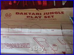 Vintage Marx Daktari Jungle Playset