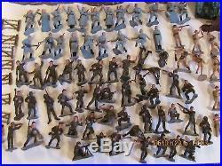Vintage Marx Invasion Day Miniature Play Set