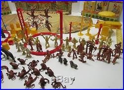VINTAGE MARX MAR TOYS No. 4320 SUPER CIRCUS PLAYSET WithBOX NICE