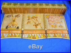 VINTAGE MARX PLAYSET SUPER CIRCUS SIDESHOW TIN TENT PLAY SET TOY 1950s ANIMALS