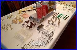 VINTAGE MARX SEARS FARM SET #6006 ORIGINAL BOX & INSTRUCTIONS