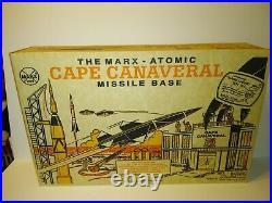 VINTAGE Marx Atomic Cape Canaveral Missile Base PLAYSET