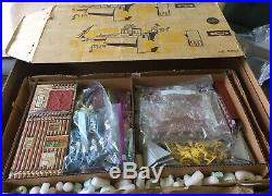 VINTAGE Marx FORT APACHE 5962 complete with box SUPERSIZED with EXTRA EVERYTHING