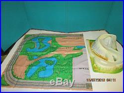 VINTAGE RARE SEARS DISNEYLAND COMMEMORATIVE PLAYSET With BOX MARX SET COMPLETE
