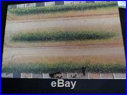 VINTAGE SEARS MARX FARM SET #6006 TIN LITHO BARN with TWO SILOS EQUIPMENT & EXTRAS