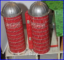 VTG 1960s Marx Toy Farm PlaySet Happi Time Tin Litho ALLSTATE Chicken Coop Sears
