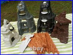 VTG Marx Guns of Navarone Playset Plastic Mountain lot