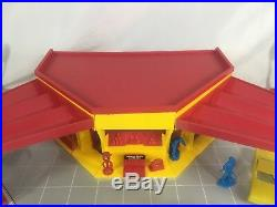 VTG Sears Service Center Play Set By Marx Model No. 3436R Vintage Collectible