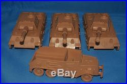 Very Rare Marx Dark Tan German Vehicles