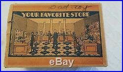Vintage 1920's Marx Home Town Series Tin Toy Your Favorite Store #182, orig. Box