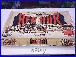 Vintage 1950-60's Marx BEN-HUR #4702 series 2000 Play Set withBox playset