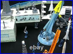 Vintage 1950's Marx Cape Canaveral Astronaut Missile Base Playset withInsert & Box