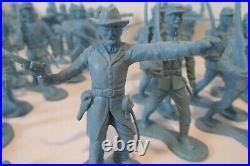 Vintage 1950s/1960s Marx Blue & Grey Civil War (ACW) Playset 3.5 Sets of Union