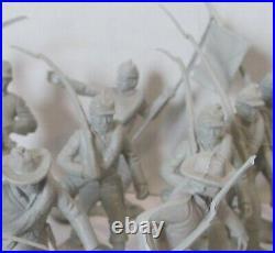 Vintage 1950s/1960s Marx Blue & Grey Civil War Playset 3.5 Sets Confederates