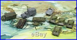 Vintage 1950s Marx Miniature Play Set 20 Minutes To Berlin Missing Pieces RARE