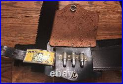 Vintage 1950s Rin Tin Tin Holster Set, Great Condition