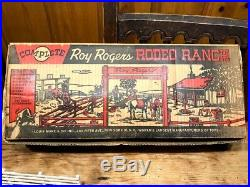 Vintage 1952 Marx Roy Rogers Rodeo Ranch Play Set #3985