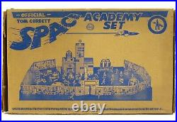 Vintage 1952 Marx Tom Corbett Captain Space Patrol Cadet Academy Playset withBox