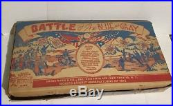 Vintage 1959 Marx Sears Battle Of The Blue And Gray Play Set #4658 Instructions