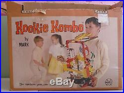 Vintage 1960 Marx Kookie Kombo One Man Band plus Box