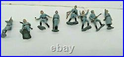 Vintage 1960's Marx Miniature Play Set BATTLE GROUND with Original Box NICE
