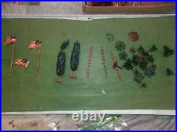 Vintage 1960's Marx Miniature Play Set Fort Apache IN ORIGINAL BOX