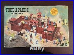Vintage 1960s Marx Fort Apache Playset NRFB NOS Model 3681