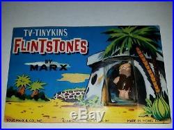 Vintage 1961 Marx Tinykins postcard lot Miniature playset figures disneykins